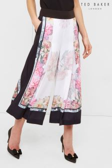 Ted Baker Cream/Pink Kilian Floral Culotte
