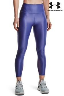 Blue Abercrombie & Fitch Logo Swim Short