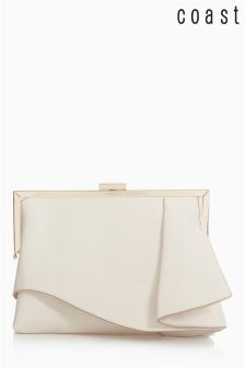 Coast Neutral Ruffle Bag