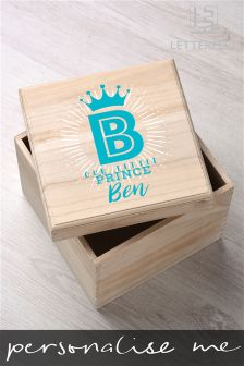 Personalised Prince Named Keepsake Box By Letterfest