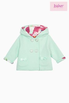 Baker by Ted Baker Green Quilted Jacket
