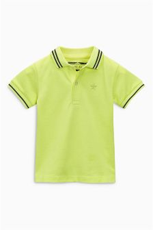 Short Sleeve Essential Polo (3mths-6yrs)