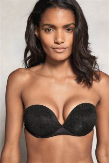 Lace Triple Boost Sweetheart Multiway Bra