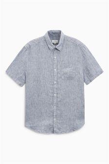 Fine Stripe Linen Shirt