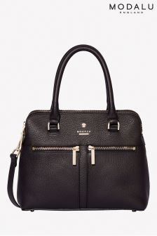 Modalu Pippa Black Small Grab Bag