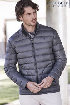 Ralph Lauren Polo Golf Charcoal Down Jacket