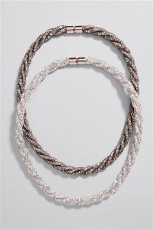 Mesh Necklace Two Pack