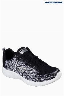 Skechers® Black/White Burst Ellipse