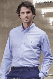 Ralph Lauren Polo Golf Blue Check Shirt