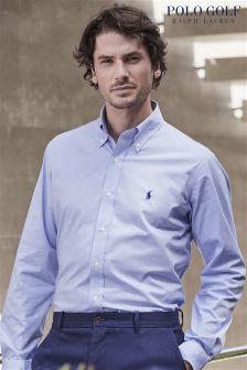Ralph Lauren Polo Golf Blue Check Shirt