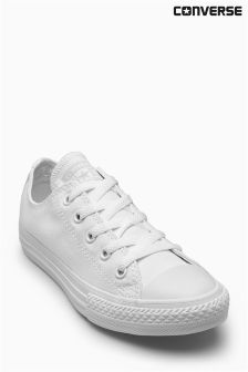 Converse White Chuck Taylor All Star Ox Lo