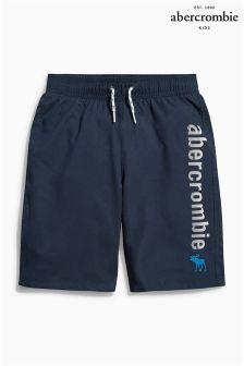 Abercrombie & Fitch Logo Swim Short