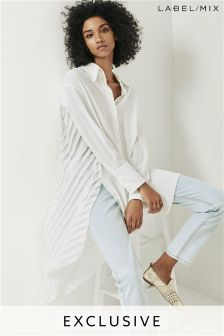 Mix/Teatum Jones Devore Back Oversized Shirt