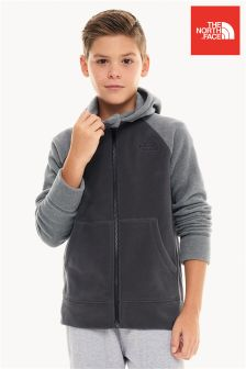 The North Face® Grey Glacier Full Zip Hoody