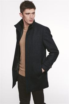 Mens Peacoats Macs & Overcoats | Mens Winter Coats | Next UK