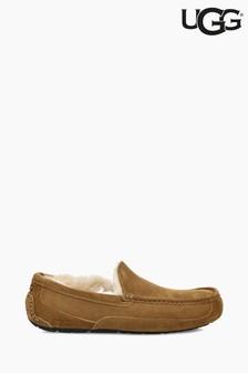 Chestnut Ugg® Ascot Moccasin Slipper