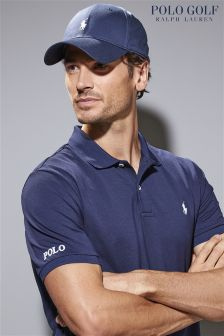 Ralph Lauren Polo Golf Navy Pique Polo