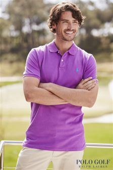 Ralph Lauren Polo Golf Pink Pique Polo