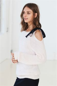 Bow Shoulder Top