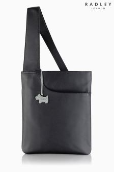 Radley® Black Pocket Medium Zip Top Across Body Bag