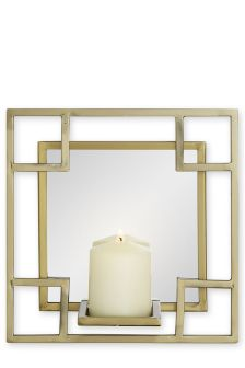 Single Deco Wall Candle Holder