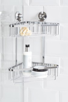 2 Tier Bathroom Corner Caddy