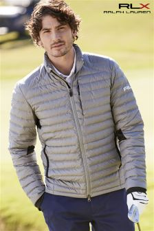 Ralph Lauren Polo Golf RLX Grey Heather Down Jacket