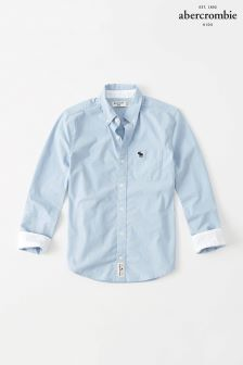 Abercrombie & Fitch Blue Classic Oxford Shirt