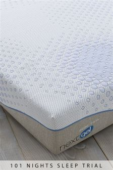2000 Rolled Gel Memory Foam Firm Mattress