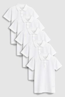 Poloshirts Five Pack (3-16yrs)