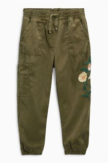 Utility Embroidered Trousers (3-16yrs)