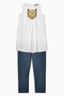 Embellished Tunic and Legging Set (3-16yrs)