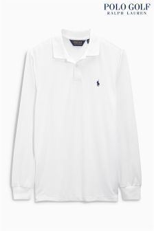 Ralph Lauren Polo Golf White Interlock Polo