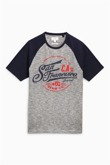 Raglan Graphic T-Shirt