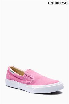 Converse Pink Slip-On