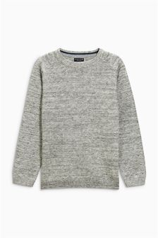 Crew Neck Jumper (3-16yrs)