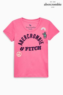 Abercrombie & Fitch Pink T-Shirt