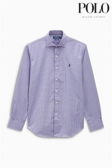 Ralph Lauren Polo Golf Purple Check Shirt