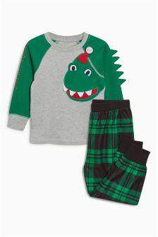 Christmas Dino Pyjamas (9mths-8yrs)