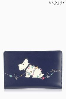 Radley® Navy In Lights Medium Zip Purse