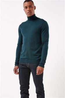 Merino Roll Neck