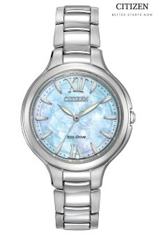Citizen Silhouette Watch With Mother Of Pearl Dial