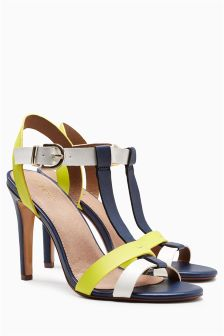 Colourblock Sandals