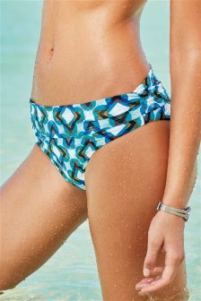 Geo Print Roll Top Briefs