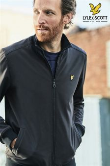 Lyle & Scott Black Bomber Jacket