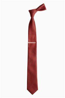 Scale Pattern Tie