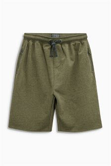 Zip Detail Shorts (3-16yrs)