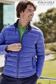 Ralph Lauren Polo Golf Royal Blue Down Jacket