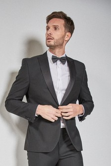 Black Mens Suits | Black Suits for Men | Next Official Site