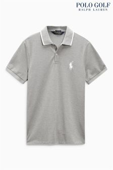 Ralph Lauren Polo Golf Grey Pique Polo